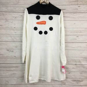 d997762ed07 Xhilaration Dresses - Xhilaration snowman frosty sweater dress christmas